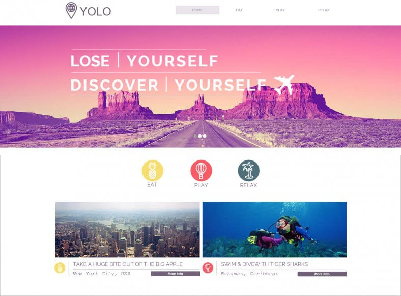 simple responsive php website template