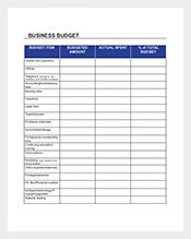 Business-Budget-Spreadsheet
