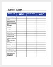 Business-Budget-Spreadsheet