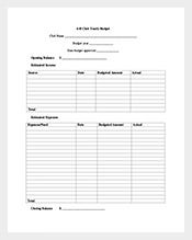 Club-Yearly-Budget-Template