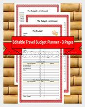 TRAVEL-BUDGET-Planner