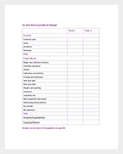 270 budget templates free sample example format download