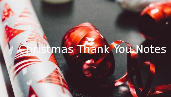 christmasthankyounotes