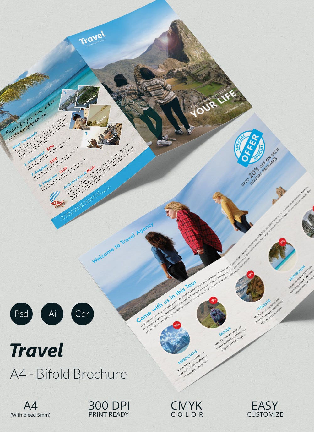 43+ Travel Brochure Templates - Free Sample, Example Format ...