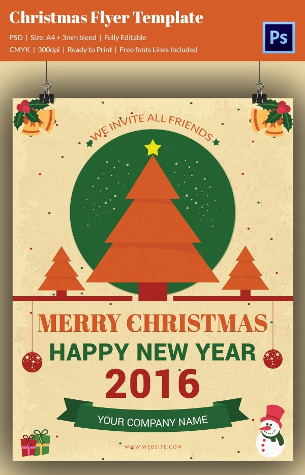 Christmas Flyer Templates  Psd Vector Format Download  Free