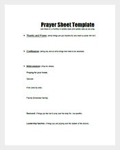 Free-Prayer-List-Template