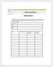 Project-Management-Task-List