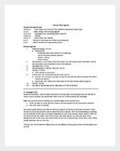 Office-Party-Agenda-Template