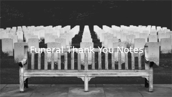 funeralthankyounotes