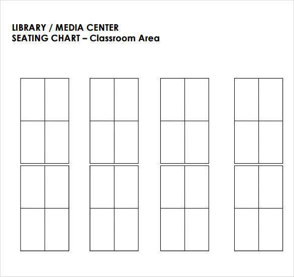 Library Media Center Clroom Seating Chart