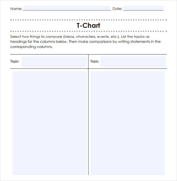 T Chart Template Best 25 100 Chart Printable Ideas On Pinterest – T Chart Word
