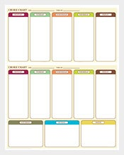 Family-Chore-Chart-for-Weekly-Schedule-Free-PDF