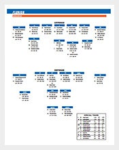 Florida-Football-Depth-Chart-Sample-PDF