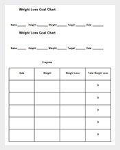 Sample-Weight-Loss-Goal-Chart-Free-Word