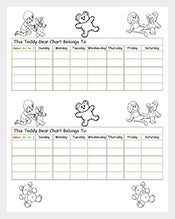 Teddy-Reward-Chart-Sample-PDF-Free