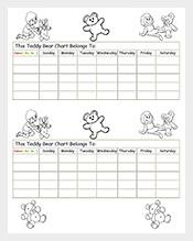 Teddy-Reward-Chart-Sample-PDF-Free