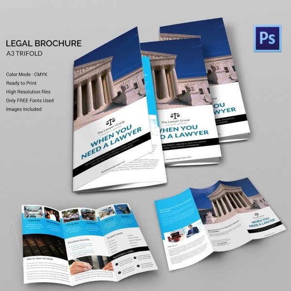 legal brochure template - 15 legal brochure templates free psd eps ai indesign