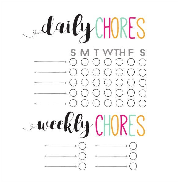 daily-and-weekly-chore-chart-template