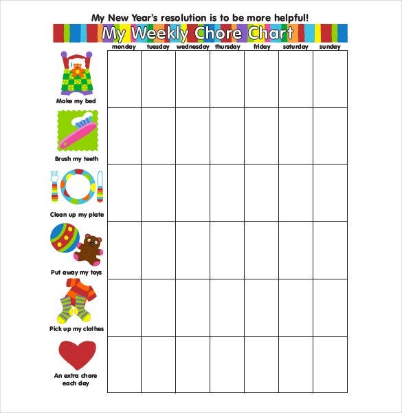 printable-weekly-chore-chart-template