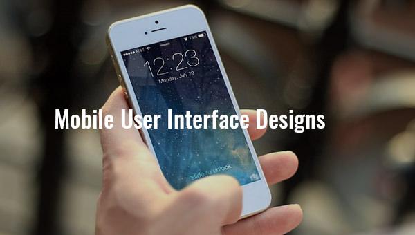 mobileuserinterfacedesigns