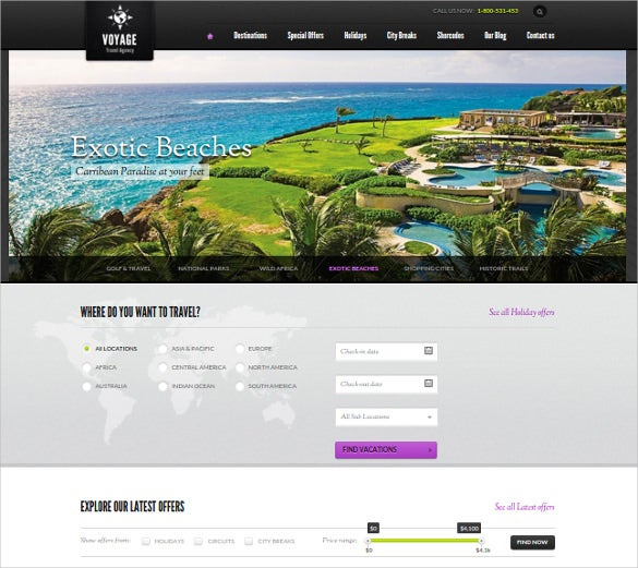 online travel agency business wordpress theme