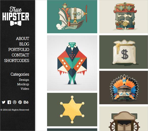 fully customization personal portfolio wordpress theme