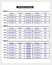 Exercise-Schedule-Training-Calendar-Template-PDF
