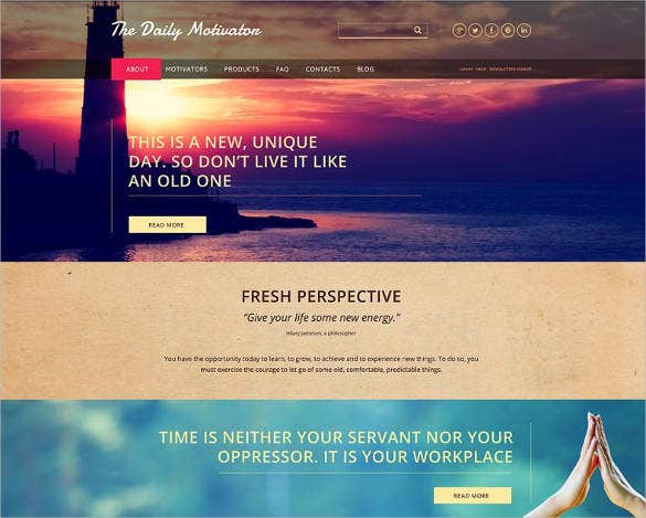 2 columns website template for charity – 116