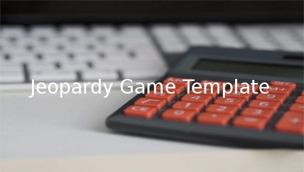 jeopardy game templates