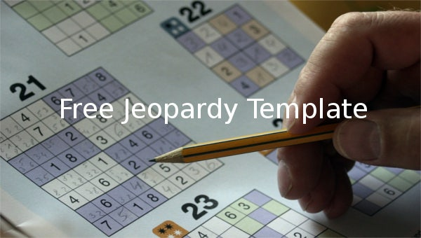 free jeopardy templates