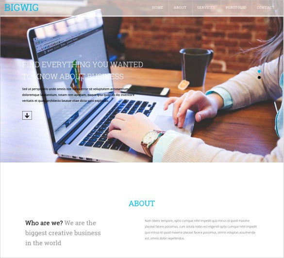 31 amazing html5 website themes templates free premium templates flat bootstrap corporate business html5 website template free download wajeb Gallery