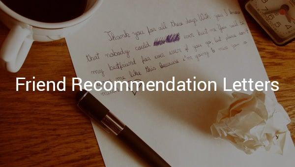 friendrecommendationletters