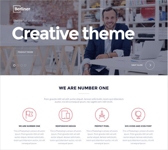 creative multipurpose html5 bootstrap template