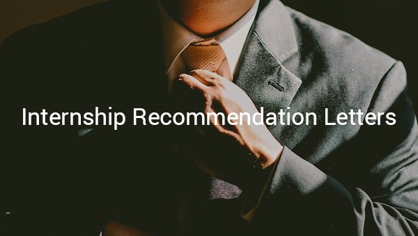 recommendationletterforinternship