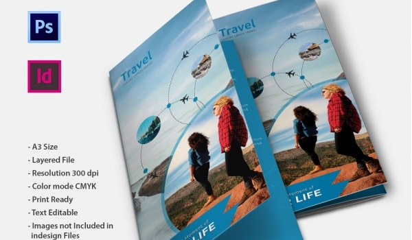 Travel Agency Brochure Template Psd | Joshymomo org