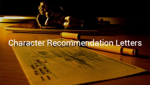 characterrecommendationletters