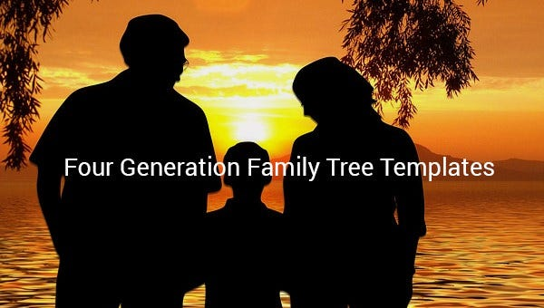 fourgenerationfamilytreetemplate