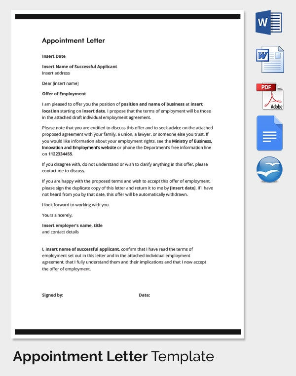 Job Application Letter for the Post of a Cook Scribd
