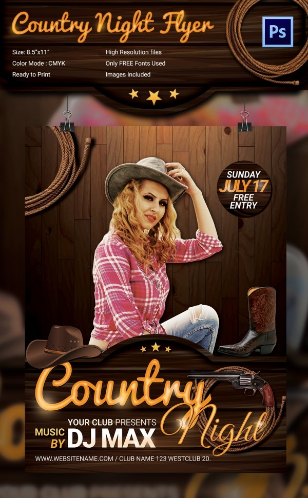 CountryNight_Flyer