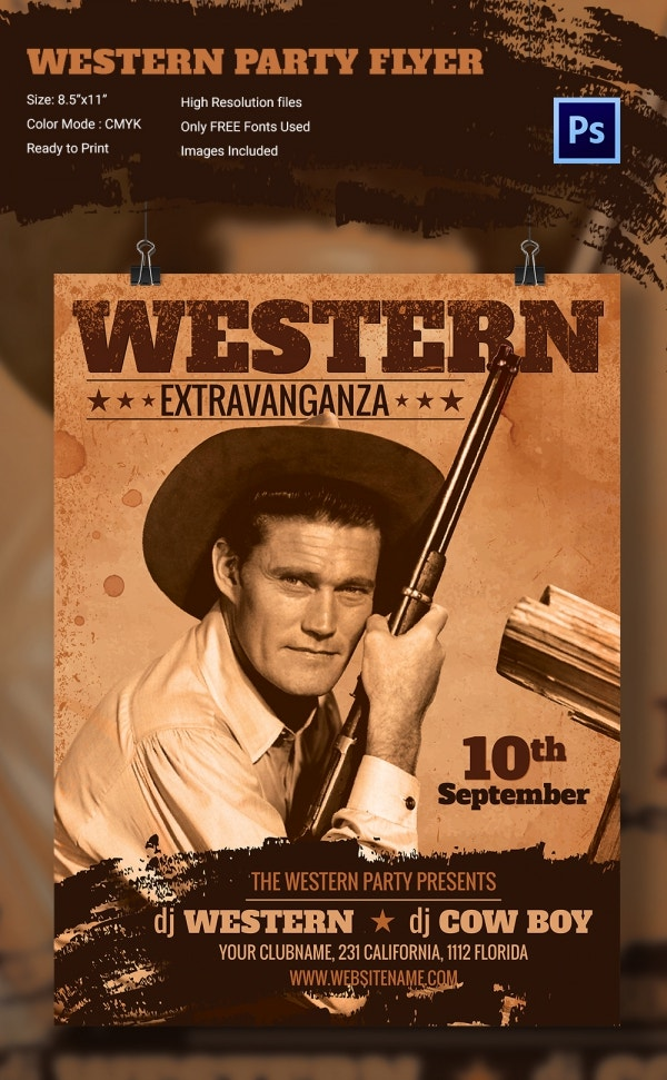 WesternParty_Flyer