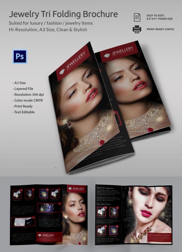 Jewelry_Tri_folding_brochure
