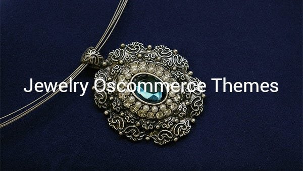 jewelry oscommerce themes