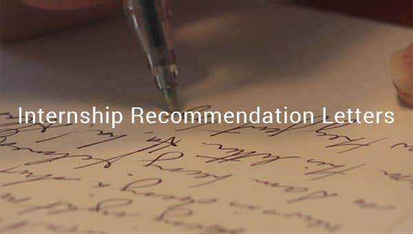 internshiprecommendationletters