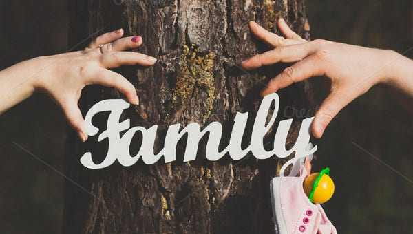 5 generation family tree templates