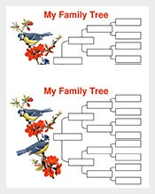 4-Generation-Family-Tree-with-Birds-Sample-Word