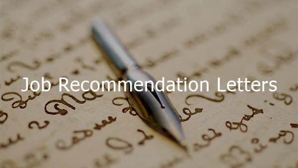 job recommendation letters1