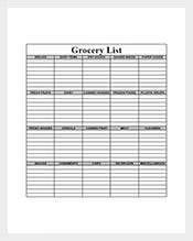 Blank-Grocery-List-Template