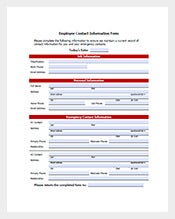Employee Contact List Template  Employee To Do List Template