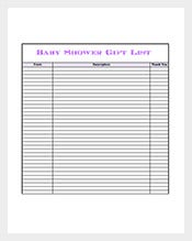 Sample-Baby-Shower-Gift-List-Template