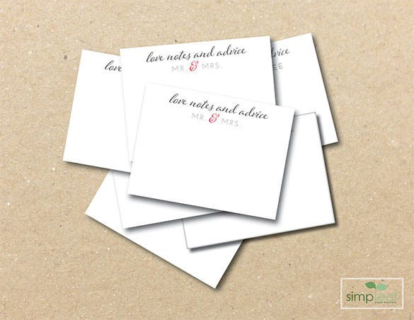 3 x 4 well wishes comment card template download